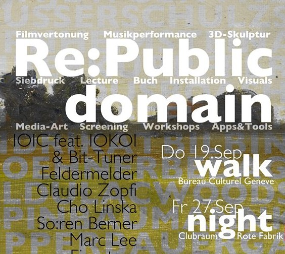 Re:Public Domain – Walk, Night, Matinee & Show